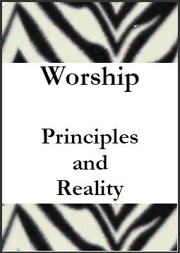 Book on Christian worship
